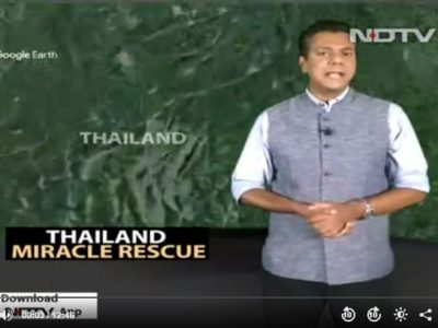 After 17 Days, 12 Boys And Coach Safely Rescued From Thai Cave – NDTV